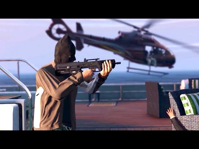 GTA 5 Online Heists Hands-On Impressions