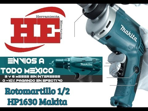 Rotomartillo HP1630 Makita