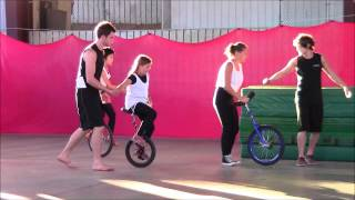 Unicycles at Summer Camp, Visiting Day 2013