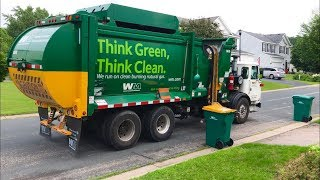 Waste Management Autocar McNeilus ZR Garbage Truck
