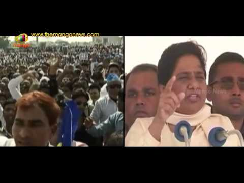 Mayawati pays tribute to Dr BR Ambedkar at BSP rally in Lucknow