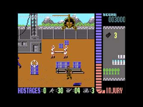 Operation Wolf by Jonathan Dunn - Commodore 64 Music