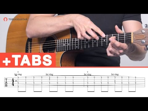 Fingerstyle Guitar Lesson: Two-Hand-Tapping + Percussion