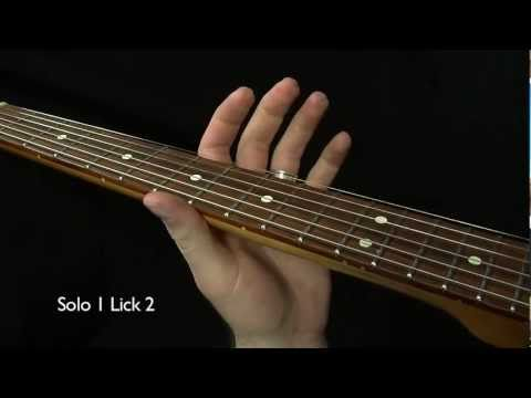 4 Albert King Style Licks