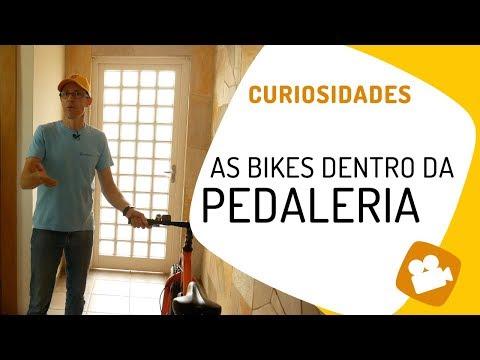 Rolê dentro da Pedaleria para conhecer as bikes que usamos nos vídeos Pedaleria