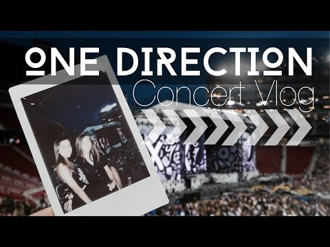 One Direction Concert || California Vlog 2