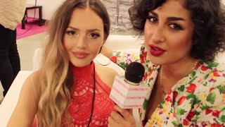 NATHALIE PARIS Interview at Beautycon LA on her Future Plans after College