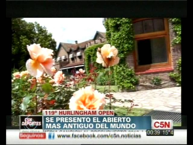 C5N - POLO: SE PRESENT EL ABIERTO MS ANTIGUO DEL MUNDO