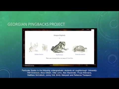 Georgian Pingbacks: Understanding Attribution Networks in 19th Century Reprinting