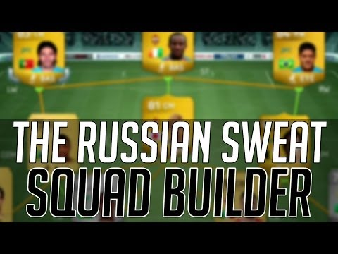 THE CHEAP RUSSIAN SWEAT SQUAD (25kish) | FIFA 14 Ultimate Team Squad Builder (FUT 14) - Next Gen