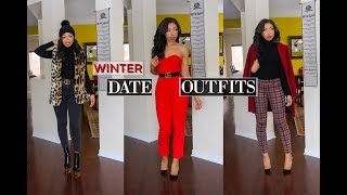 HOW TO LOOK STYLISH THIS WINTER | CASUAL DATE NIGHT OUTFITS + Lookbook