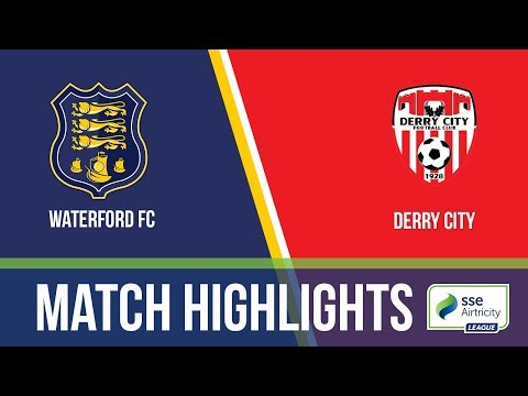 HIGHLIGHTS: Waterford 2-1 Derry City