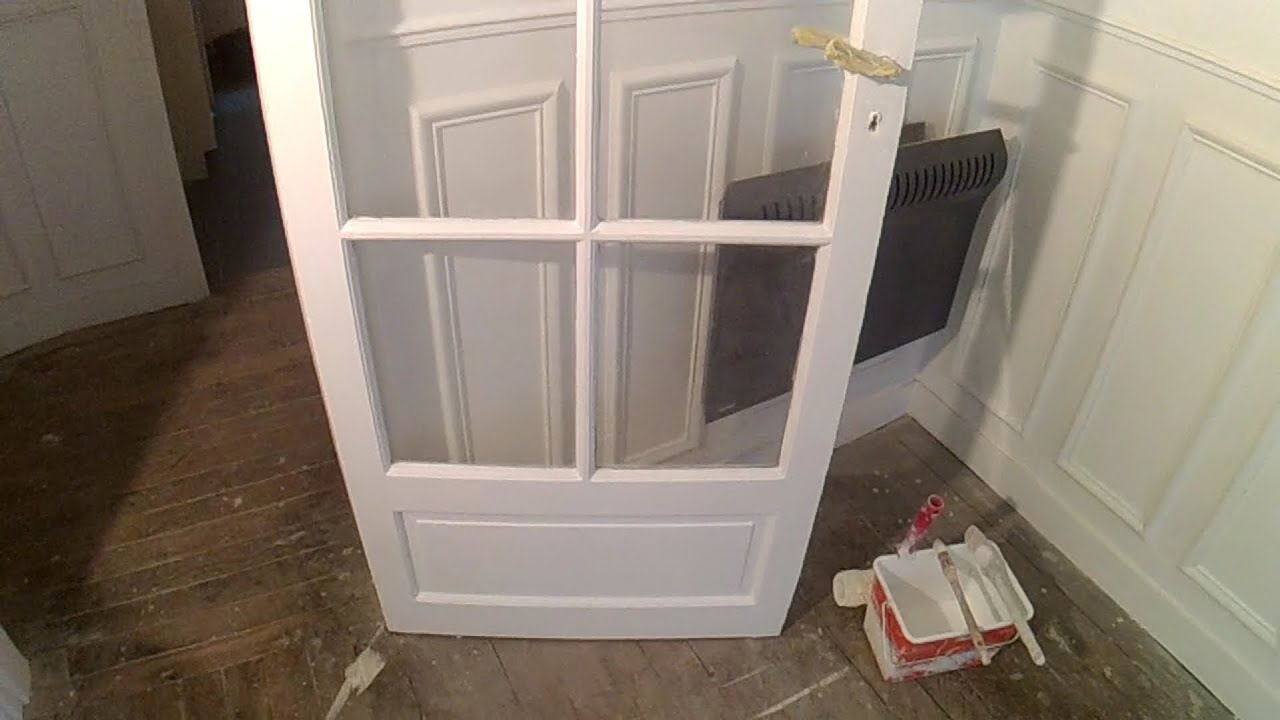 Relooker une porte d entr e en bois - Comment regler une porte d entree en bois ...