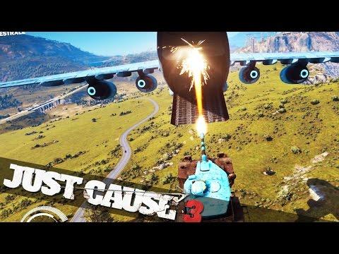 JUST CAUSE 3 MOVIE STUNTS :: Just Cause 3 Crazy Stunts