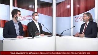 Élection 2021 des Produits du BTP 2021  - WILO