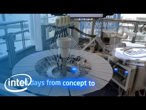 The Robotic Musicians known as: Intel's Industrial Control in Concert