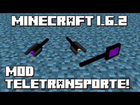 Minecraft 1.6.2 MOD TELETRANSPORTE