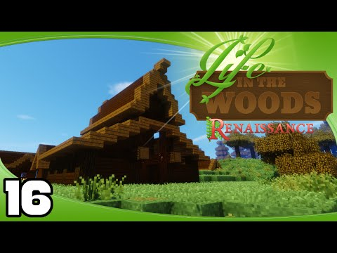 Life in the Woods: Renaissance - Ep. 16: Rustic Village Stables