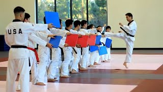 Amazing Taekwondo Training