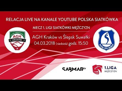 I Liga Siatkówki AGH  Kraków - Ślepsk Suwałki  PLAY OFF - Mecz Nr4