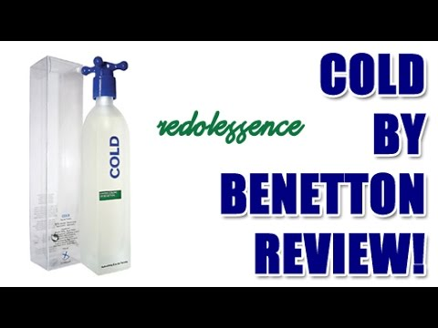 Cold by Benetton Fragrance / Cologne Review