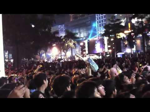 New Year 2012 | Central World, Bangkok, Thailand