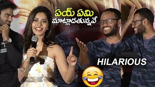 Actress Nabha Natesh Making FUN at Nannu Dochukunduvate Movie Success meet | Sudheer Babu
