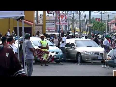 MAY PEN THE CAPITAL OF CLARENDON, IN JAMAICA EVERYDAY LIFE ON DA STREET BY ZULU