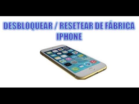 Desbloquear   Resetear iPhone . Dejar iphone de fabrica - Fácil y rápido - Paso a paso