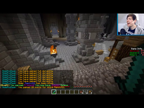 Minecraft | BEST HIDING & SEEKING EVER?! | Hide N Seek Minigame