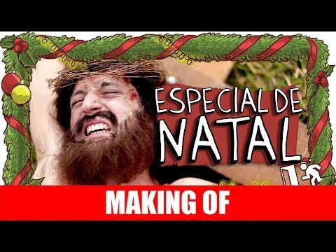 MAKING OF ESPECIAL DE NATAL