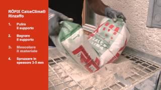 Video RÖFIX CALCECLIMA® RINZAFFO su RÖFIX TV