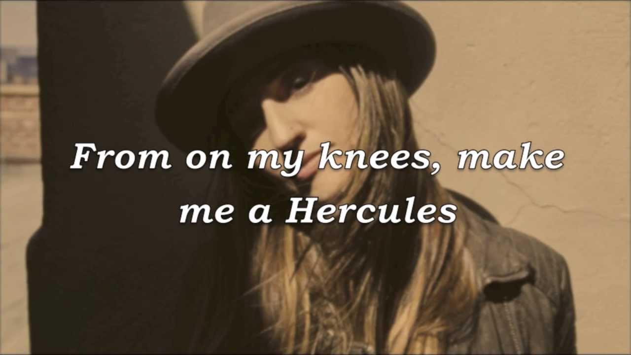 sara bareilles - hercules lyrics  hd
