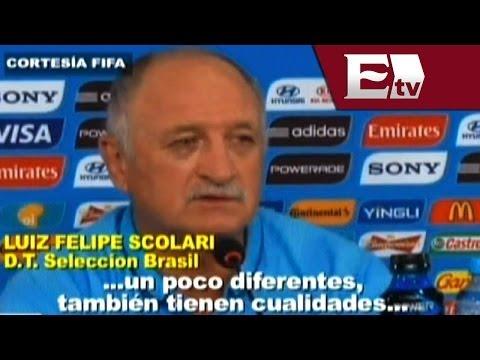 Luiz Felipe Scolari y Thiago Silva reconocen peligrosidad de México/ Viva Brasil