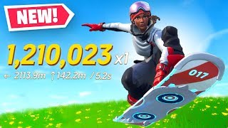 *NEW* Driftboard TRICK SCORE Challenge in Fortnite!