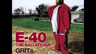 Watch E40 Fallin Rain video