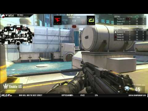 Optic Gaming vs Faze Red - Game 1 - WBF - North American Championships
