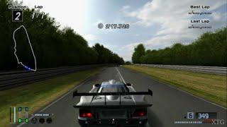 Gran Turismo 4 - Mercedes-Benz CLK-GTR Race Car HD PS2 Gameplay