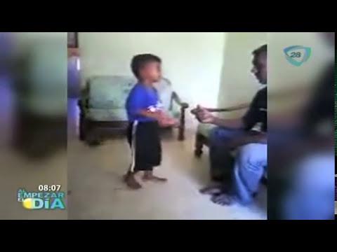 Niño golpeado brutalmente por su padrastro