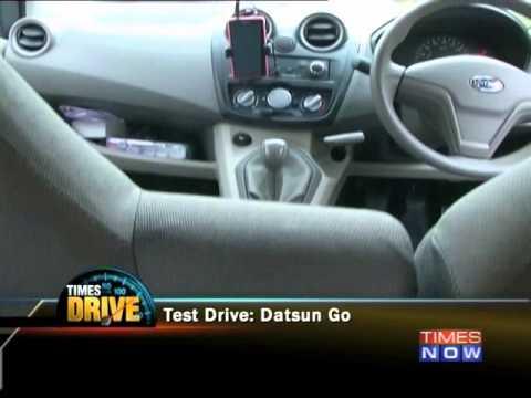 Datsun Go Test Drive & Royal Enfield Concept store - Times Drive