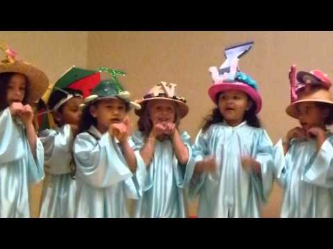 Fuyumi's Pre-k Graduation - Florida Alphabet Song video