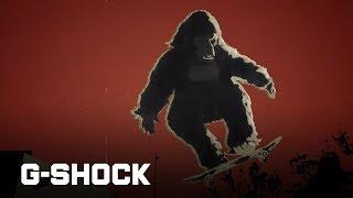 CASIO G-SHOCK Gorilla Movie Episode 3 : Skateboarding