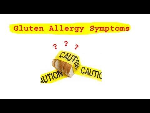Gluten Allergy Symptoms