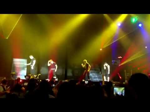 One direction vs. the band - dance off Barcelona May 22