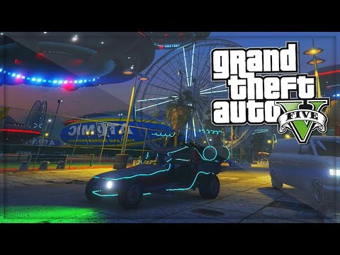 GTA 5 Online UFO, Space docker GTA Rare Cars | GTA 5 Funny Moments - (...