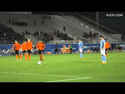 New York City FC vs HB Køge: David Villa's Goal