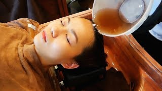 ASMR 중국 묘족 머리 청소 Chinese Miao(Hmong)Hair Treatment 中药头皮护理