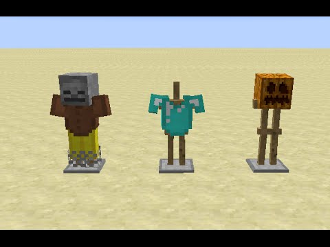 Minecraft Snapshot 14w32a Overview Armor Stands Colored Beacons and Red Sandstone