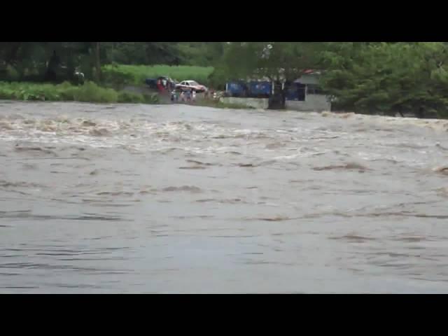 Rio actopan crecido