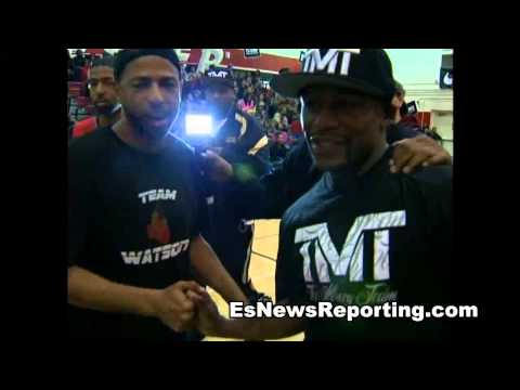 FOOLISH ESPN REPORTER ATTACKS MAYWEATHER ON TWITTER  - esnews boxing